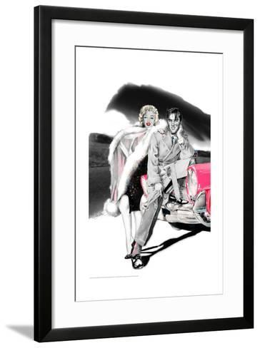 Two for the Road-Betty Harper-Framed Art Print