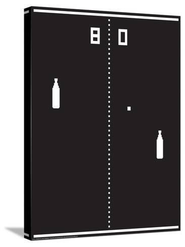 Beer Pong-J.J. Brando-Stretched Canvas Print