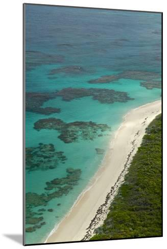 Beautiful and Empty Beaches Along the Coast of Cat Island, Bahamas-Jad Davenport-Mounted Photographic Print
