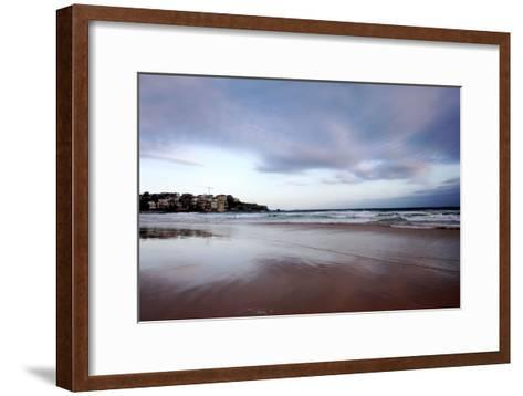 Sunset at Bondi Beach-Jill Schneider-Framed Art Print