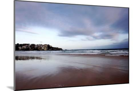 Sunset at Bondi Beach-Jill Schneider-Mounted Photographic Print