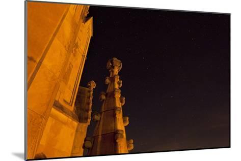 The Spires of Shapard Tower Against a Starry Night Sky-Stephen Alvarez-Mounted Photographic Print