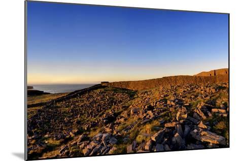 Dun Aengus Fort on the Aran Islands, West Coast of Ireland-Chris Hill-Mounted Photographic Print