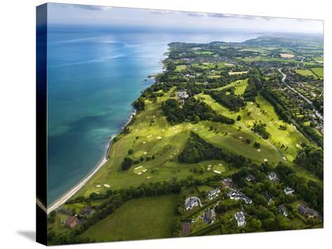 Aerial View of Royal Belfast Golf Club, Northern Ireland-Chris Hill-Stretched Canvas Print