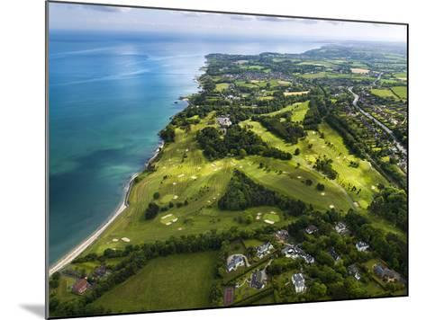 Aerial View of Royal Belfast Golf Club, Northern Ireland-Chris Hill-Mounted Photographic Print