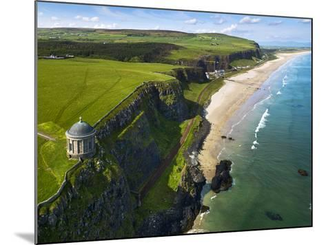 Mussenden Temple, a Folly on the North Irish Coast-Chris Hill-Mounted Photographic Print