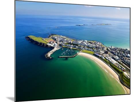 Aerial View Over Portrush, Northern Ireland-Chris Hill-Mounted Photographic Print