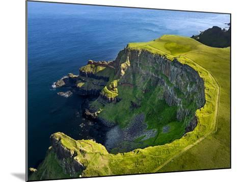 Aerial View of the Giant's Causeway in Northern Ireland-Chris Hill-Mounted Photographic Print