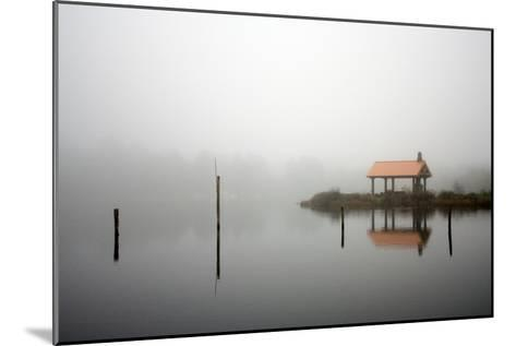 Spring Lake, Near the Oregon Coast in Twin Rocks, Oregon-Vickie Lewis-Mounted Photographic Print