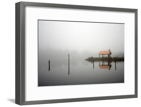Spring Lake, Near the Oregon Coast in Twin Rocks, Oregon-Vickie Lewis-Framed Art Print