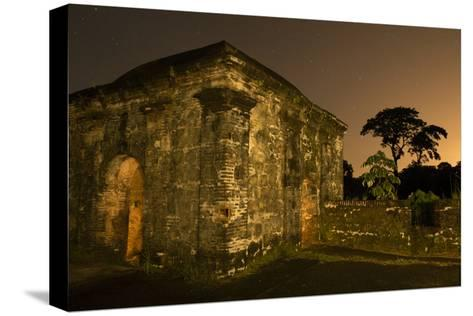 Fort San Lorenzo Under a Starry Night Sky in Panama-Jonathan Kingston-Stretched Canvas Print
