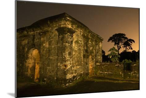 Fort San Lorenzo Under a Starry Night Sky in Panama-Jonathan Kingston-Mounted Photographic Print