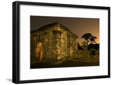 Fort San Lorenzo Under a Starry Night Sky in Panama-Jonathan Kingston-Framed Art Print