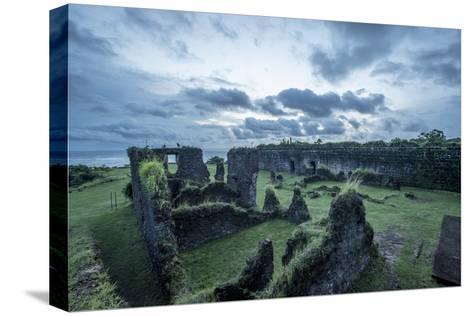 Dramatic Clouds Over Fort San Lorenzo, Panama-Jonathan Kingston-Stretched Canvas Print