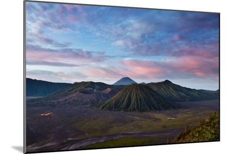 Mount Bromo Volcano and Bromo Tengger Semeru National Park-Alex Saberi-Mounted Photographic Print