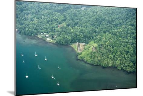 Aerial View of Fort San Fernando, Portobelo, Panama-Jonathan Kingston-Mounted Photographic Print