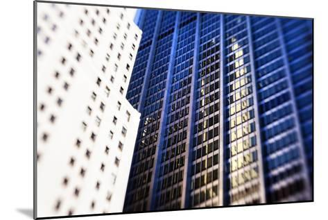 Architecture in the Financial District of New York City-Keith Barraclough-Mounted Photographic Print