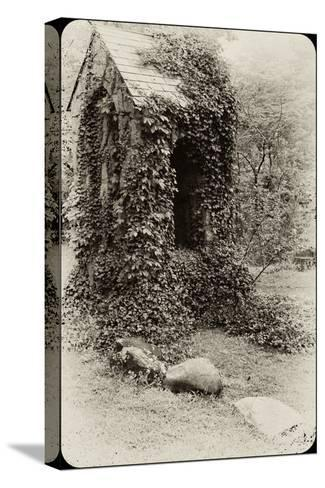 The Old Bell Tower at Warren Wilson College, Covered in Vines-Amy & Al White & Petteway-Stretched Canvas Print
