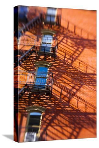 Architecture in the SoHo, Cast Iron Historical District of New York-Keith Barraclough-Stretched Canvas Print