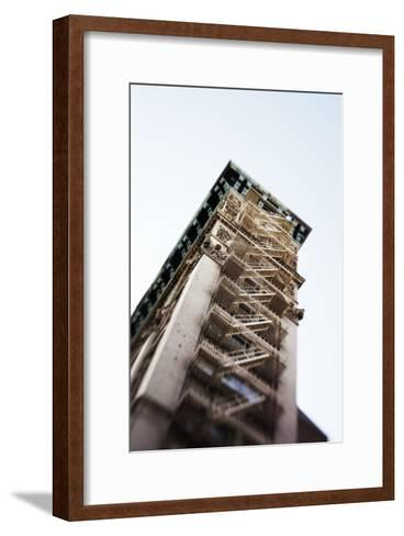 Architecture in the SoHo, Cast Iron Historical District of New York-Keith Barraclough-Framed Art Print