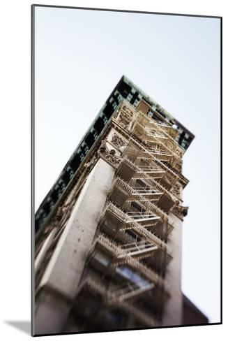 Architecture in the SoHo, Cast Iron Historical District of New York-Keith Barraclough-Mounted Photographic Print