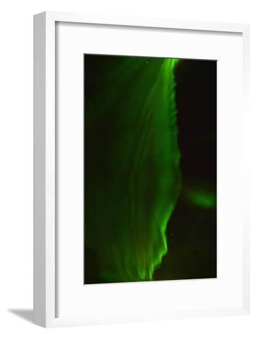 The Aurora Borealis Or Northern Lights Above a Hotel-Raul Touzon-Framed Art Print