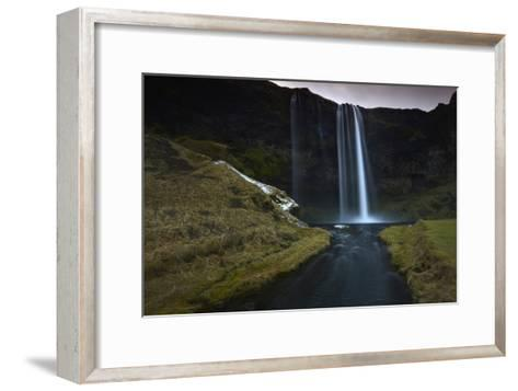 The 200 Foot Tall Seljarlandsfoss Waterfall-Raul Touzon-Framed Art Print