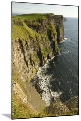 The Cliffs of Moher and the Atlantic Ocean-Jeff Mauritzen-Mounted Photographic Print