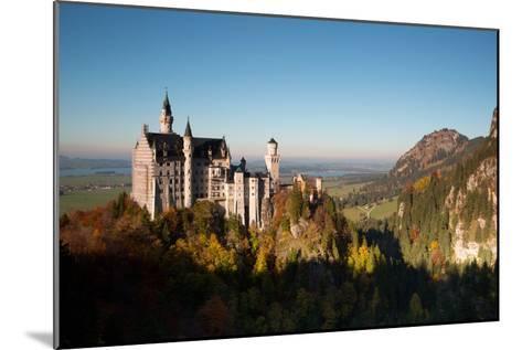 Neuschwanstein Castle in Autumn-Alex Saberi-Mounted Photographic Print