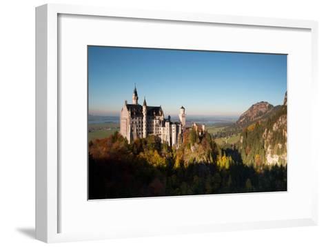 Neuschwanstein Castle in Autumn-Alex Saberi-Framed Art Print