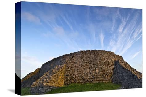 The Dry Stone Prehistoric Concentric Celtic Ring Fort of Dun Aengus-Jim Ricardson-Stretched Canvas Print