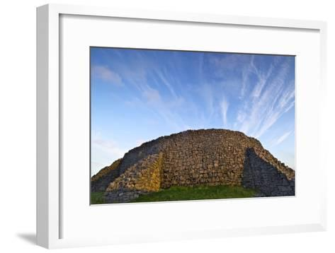 The Dry Stone Prehistoric Concentric Celtic Ring Fort of Dun Aengus-Jim Ricardson-Framed Art Print