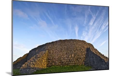 The Dry Stone Prehistoric Concentric Celtic Ring Fort of Dun Aengus-Jim Ricardson-Mounted Photographic Print