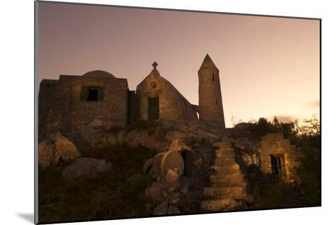 Mt. Alvernia Hermitage and Father Jerome's Tomb Atop Como Hill-Jad Davenport-Mounted Photographic Print