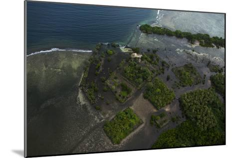 The Ancient Ruins of Micronesia's Nan Madol, Seen From the Air-Stephen Alvarez-Mounted Photographic Print
