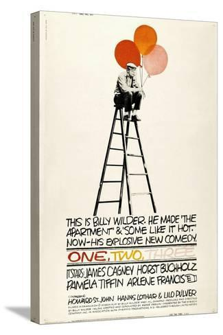 One, Two, Three, 1961, Directed by Billy Wilder--Stretched Canvas Print