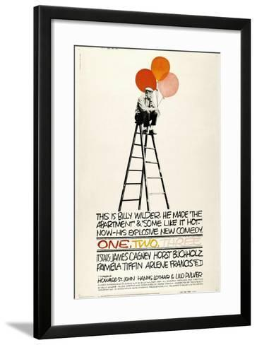 One, Two, Three, 1961, Directed by Billy Wilder--Framed Art Print