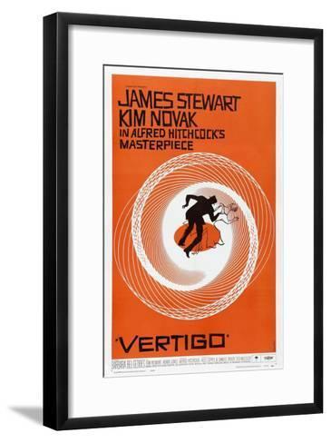 Vertigo, 1958, Directed by Alfred Hitchcock--Framed Art Print