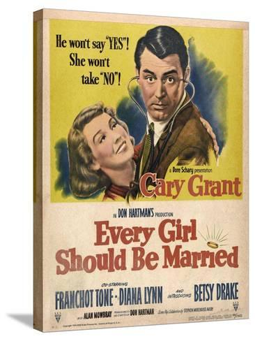 Every Girl Should Be Married, 1948, Directed by Don Hartman--Stretched Canvas Print