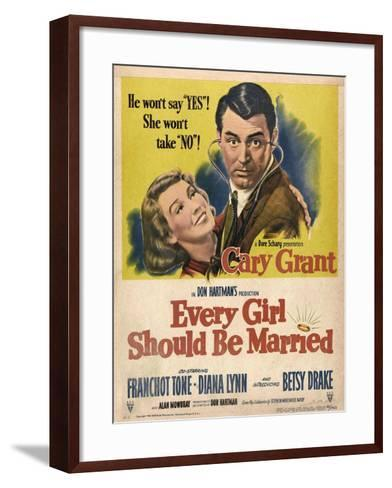 Every Girl Should Be Married, 1948, Directed by Don Hartman--Framed Art Print