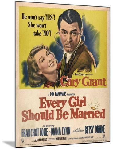 Every Girl Should Be Married, 1948, Directed by Don Hartman--Mounted Giclee Print