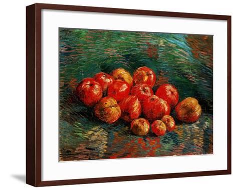 Still Life With Apples, 1887-1888-Vincent van Gogh-Framed Art Print