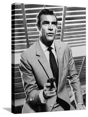 """Sean Connery. """"Doctor No"""" 1962, """"Dr. No"""" Directed by Terence Young--Stretched Canvas Print"""