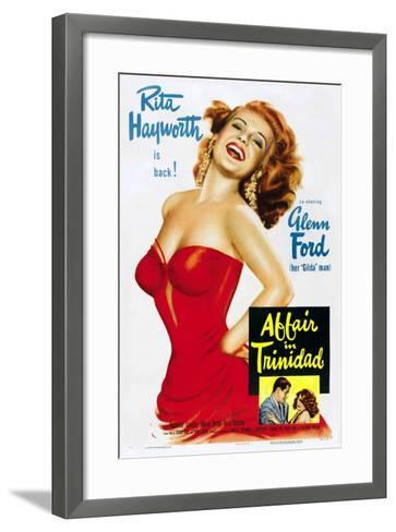 """Girl From Amen Valley, 1952, """"Affair In Trinidad"""" Directed by Vincent Sherman--Framed Art Print"""