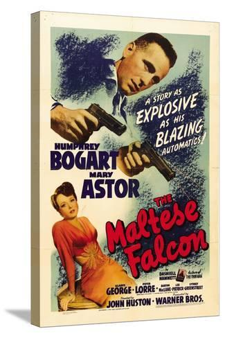 """The Gent From Frisco, 1941, """"The Maltese Falcon"""" Directed by John Huston--Stretched Canvas Print"""