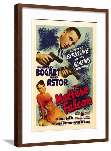"""The Gent From Frisco, 1941, """"The Maltese Falcon"""" Directed by John Huston--Framed Art Print"""