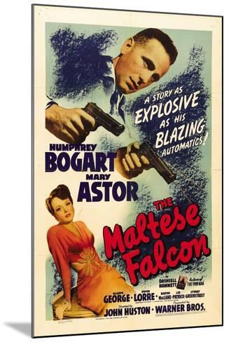 """The Gent From Frisco, 1941, """"The Maltese Falcon"""" Directed by John Huston--Mounted Giclee Print"""