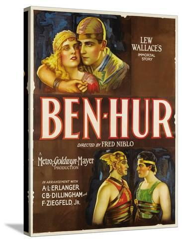 """Ben-hur, 1925, """"Ben-hur: a Tale of the Christ"""" Directed by Fred Niblo--Stretched Canvas Print"""