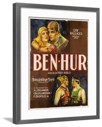 "Ben-hur, 1925, ""Ben-hur: a Tale of the Christ"" Directed by Fred Niblo--Framed Art Print"