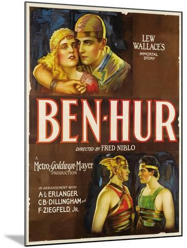 """Ben-hur, 1925, """"Ben-hur: a Tale of the Christ"""" Directed by Fred Niblo--Mounted Giclee Print"""
